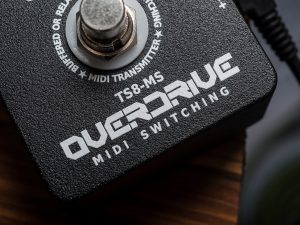 Becos-TS8-MS MIDI Overdrive / Switcher Pedal