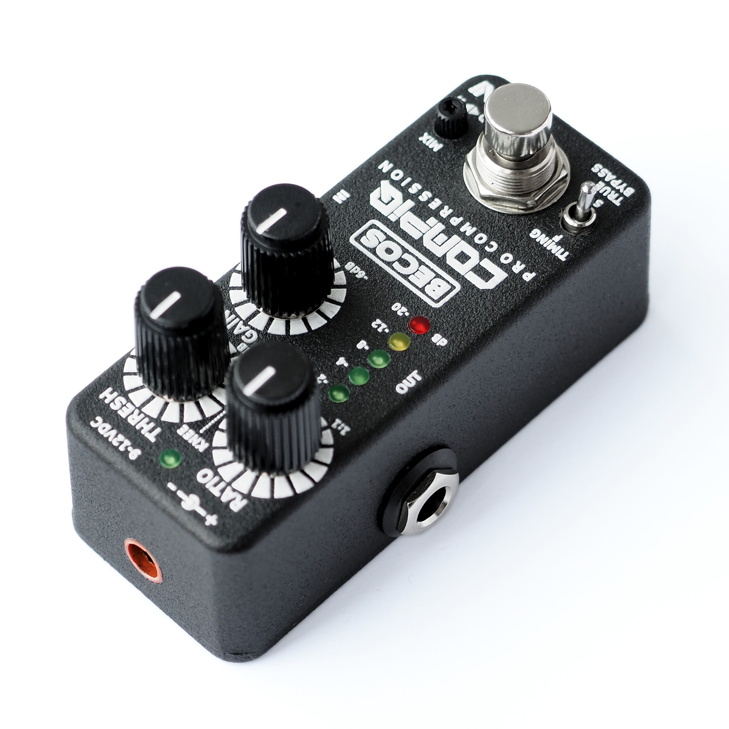 compiq mini pro compressor pedal for guitar bass becosfx. Black Bedroom Furniture Sets. Home Design Ideas