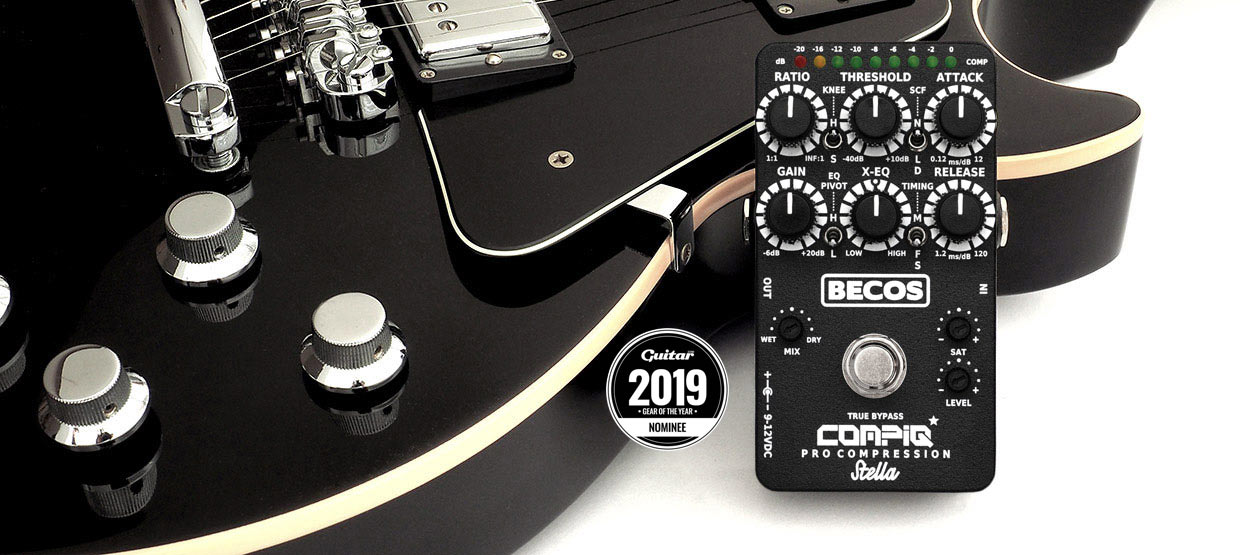 CompIQ Stella - Guitar Magazine Gear Of The Year 2019 Nominee Badge