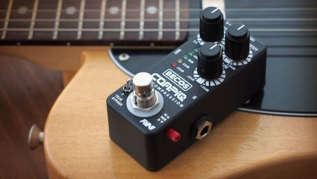 CompIQ MINI Pro Compressor pedal for Guitar & Bass
