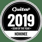CompIQ Stella - Guitar Magazine Gear Of The Year 2019 Nominee Badge