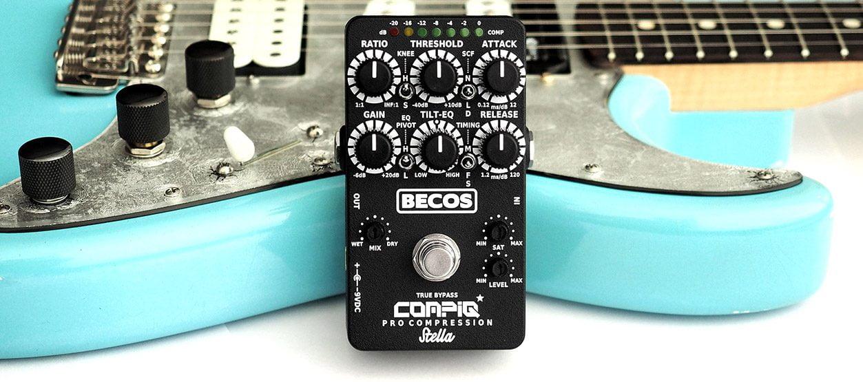 BECOS CompIQ PRO Stella Compressor Pedal