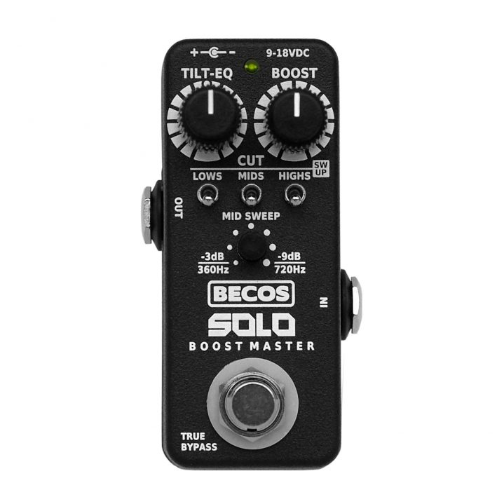 SBMP-1 BECOS SOLO Boost Master Preamp