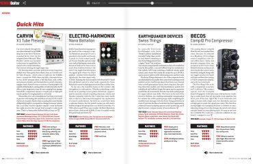 PremierGuitar Print May 2019 Quick Hit CompIQ MINI Pro Compressor