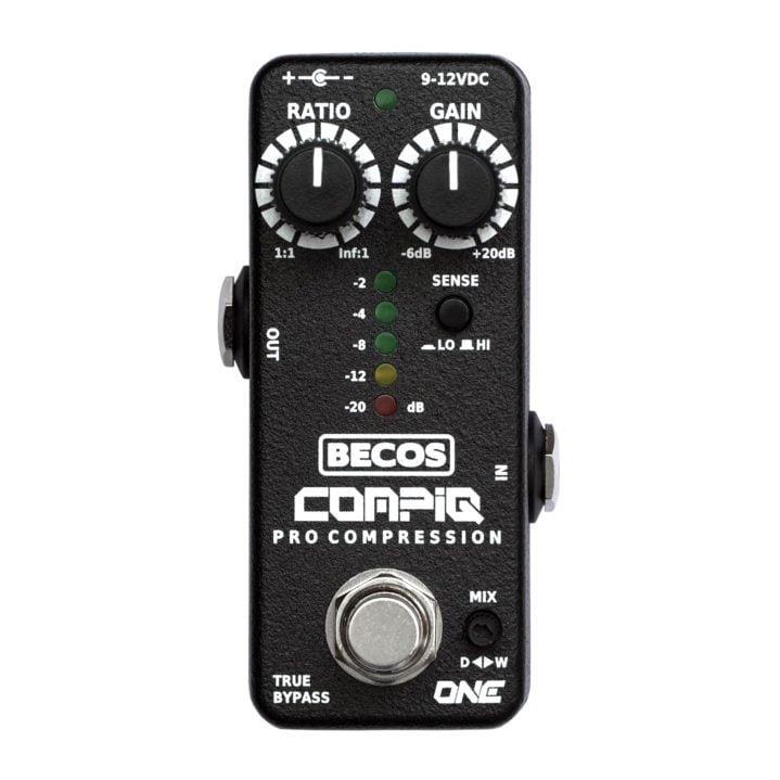CompIQ MINI One Pro Compressor pedal for guitar & bass