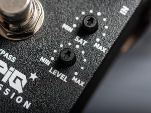Becos CompIQ Pro Stella Compressor controls close-up