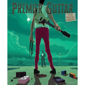 Premier Guitar Oct 2019 Pedal Showcase Issue Magazine Cover