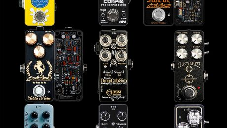 Mini Pedals State of the Art PT 1 : Nine leading examples of Contemporary Mini Pedal Smart Engineering
