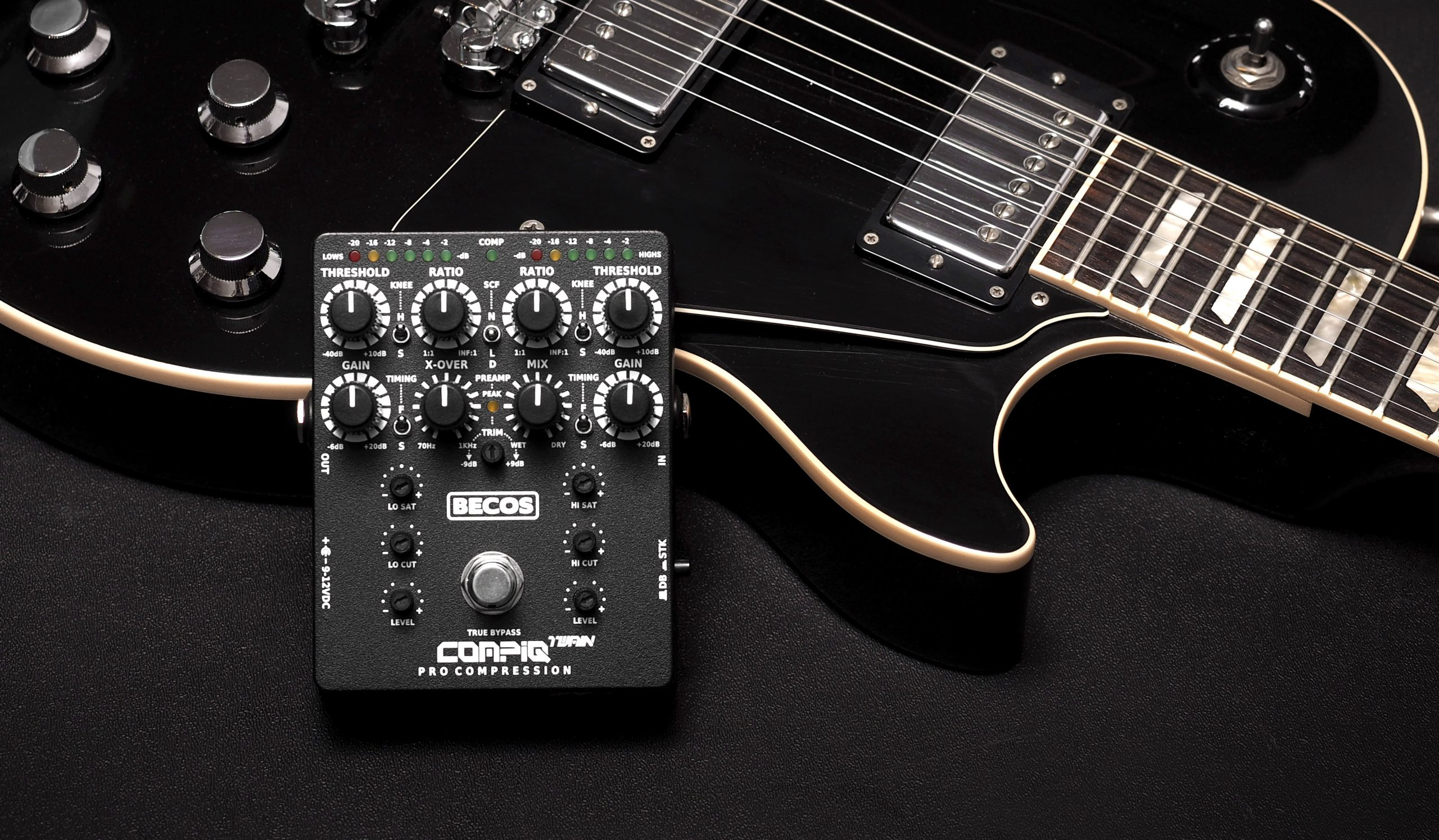 CompIQ TWAIN Dual-Band / Stacked Compressor for Bass and Guitar