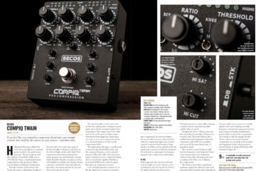 CompIQ Twain Review - Guitar Magazine - May 2020 - p118-119