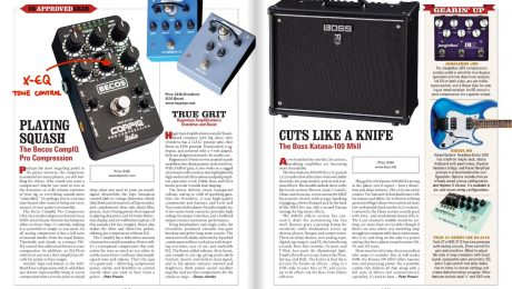 CompIQ Stella Review Vintage Guitar Approved Gear - VG Magazine - May 2020 - p106-107