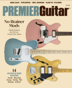 Premier Guitar May 2020 Issue Cover