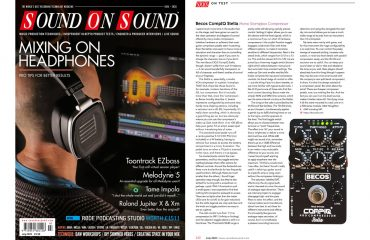 Sound On Sound CompIQ Stella Review July 2020 Issue