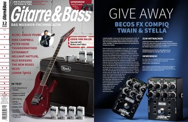 Gitarre Und Bass Dec 2020 STELLA & TWAIN GIVEAWAY
