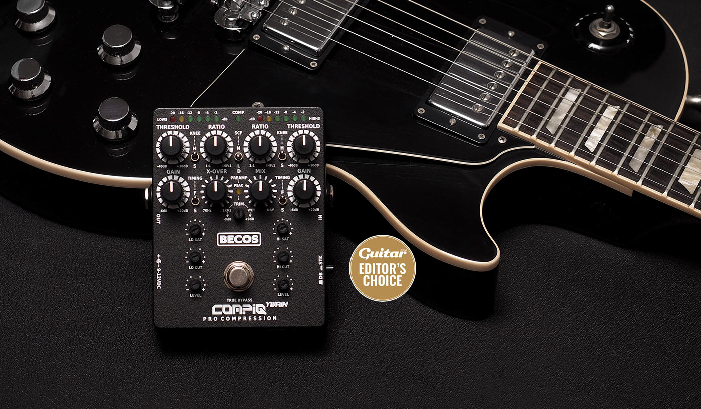 CompIQ TWAIN Dual-Band / Stacked Compressor for Bass and Guitar - Guitar Magazine Editor's Choice
