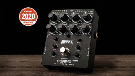 Guitar Magazine Gear Of The Year 2020 - Becos CompIQ Twain - Recommended
